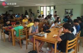 English Fella 宿霧語言學校第一天-學生餐廳吃午餐