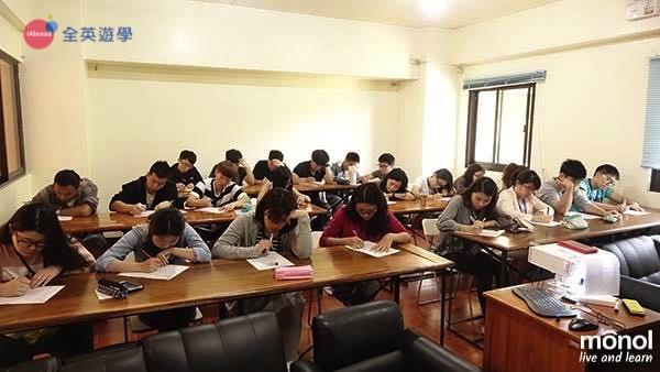 ▲ Monol 的新生第一天都要參加入學測驗