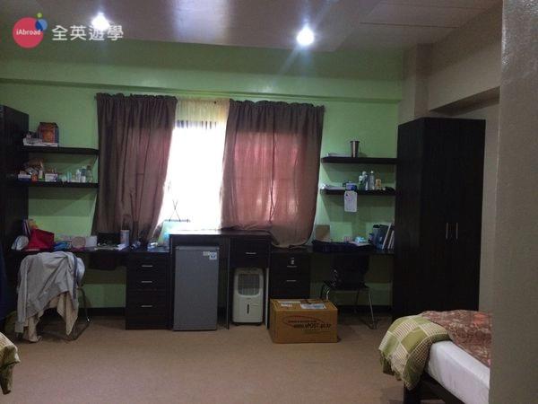 ▲ 雙人房空間很大