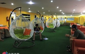 SMEAG 語言學校多益校區,學生休息區,可以安靜休息或唸書