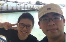 SMEAG-宿霧學校-多益托福校區-小江多益遊學記-全英顧問來看我,還一起去跳島!