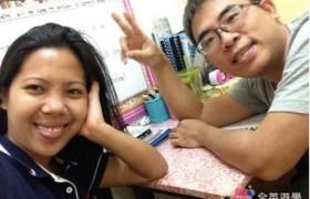 SMEAG-宿霧學校-多益托福校區-小江與一對一老師合照