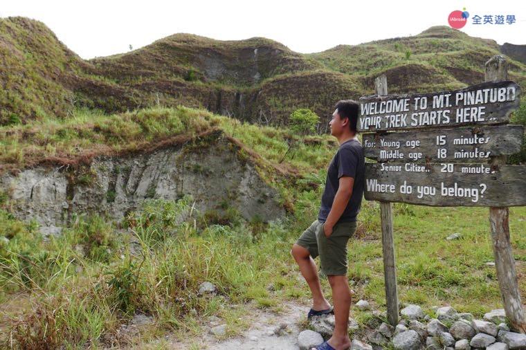 monol 語言學校 James 碧瑤遊學日記-Mount Pinatubo