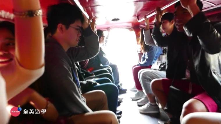 Monol 碧瑤語言學校第一天,搭 Jeepney 去 SM Mall買東西