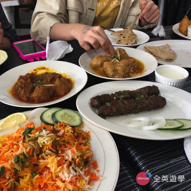 ▲ 沒想到是在碧瑤嘗試了阿拉伯料理~哈哈,滿有趣的。